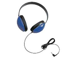 Califone International 2800-BL Listening First Stereo Headphones - Blue