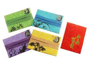 Multifunction Red Envelope with Embroidery & Tissue Pouch with Chinese design