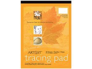 Pacon 2317 Art1st Parchment Tracing Paper, 14 x 17, White, 50 Sheets
