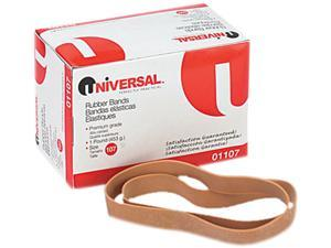 Universal 01107 Rubber Bands- Size 107- 7 x 5/8- 40 Bands/1lb Pack