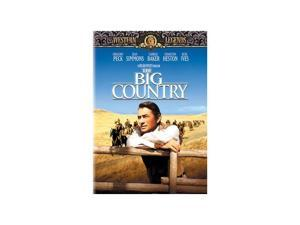 The Big Country Gregory Peck, Jean Simmons, Carroll Baker, Charlton Heston, Burl Ives, Charles Bickford, Alfonso Bedoya, Chuck Connors, Chuck Hayward, Buff Brady
