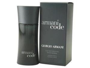 Armani Code by Giorgio Armani 2.5 oz EDT Spray