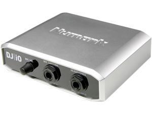 Numark DJIO Multi Channel USB Audio Interface Computer DJ Audio Interface