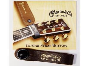 Martin Leather Guitar Strap Button, Brown