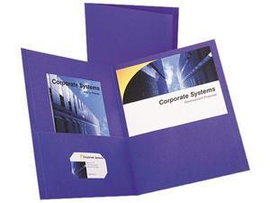 Esselte Pendaflex Corporation ESS57514 Twin Pocket Portfolio- w-o Fasteners- 11in.x8-.50in.- PE
