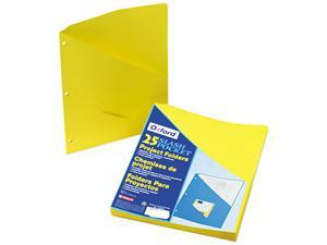 Tops Pendaflex 32909 Essentials Slash Pocket Project Folders  Jacket  Ltr  YW  25/pk