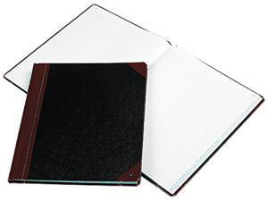 Tops Pendaflex 16021215F Columnar Book  Black Cover  150 Pages  12-1/4 x 10-1/8