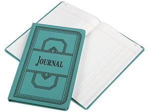 Tops Pendaflex 66300J Record/Account Book  Journal Rule  Blue  300 Pgs  12-1/8 x 7-5/8