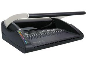 GBC 7706171 CombBind C12 Manual Binding System- 17-7/8w x 16-1/2d x 7-7/8h- Black