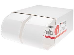Universal 70116 1 Across Dot Matrix Printer Labels  4 x 2-15/16  White  5000 per Box