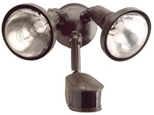 Cooper Lighting Bronze Two Light 240 degrees Security Floodlight