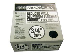 "Southwire 55082321 3/4"" X 25' Armor Flex® Reduced Wall Flexible Aluminum Condui"