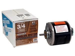 MTR COOLER 3/4HP 1SPD 115V DIAL MFG INC Evaporative Cooler Parts 2205