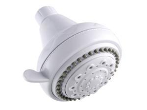 LDR 520-5305WT White 5 Function Shower Head