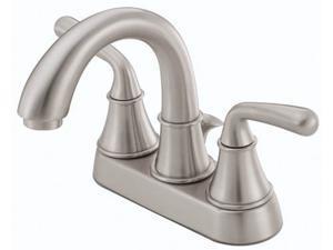 Danze D301056BN Bannocknurn Two Handle Centerset Low Lead Lavatory Faucet