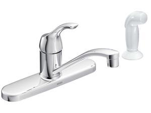MOEN CA87551 Touch Control One Handle Low Arc Kitchen Faucet - Chrome