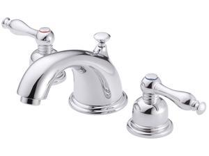 Danze D304055 Sheridan Two Handle Widespread Low Lead Lavatory Faucet Chrome