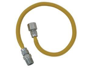 "Cobra Plumbing CSSL54-36P 36"" Stainless Steel Gas Dryer Connector"