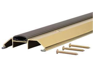"MD 09365 36"" Bright Gold High Boy Thresholds With Vinyl Seal Aluminum"