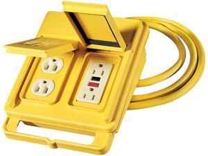 Coleman Cable 02816 120 Volt Quad Box Ground Fault Circuit Interrupter