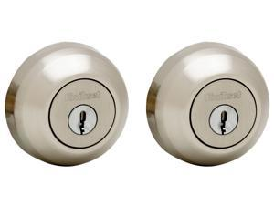 Kwikset Signature Series 99850-058 Satin Nickel Smartkey Double Cylinder Deadbolt