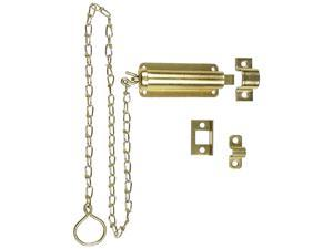 """Stanley Hardware 757029 3"""" Zinc Plated Door Bolts With Chain"""