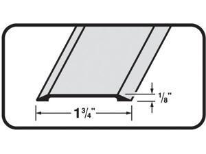 "MD 49010 36"" Satin Nickel Flat Top Saddle Thresholds"