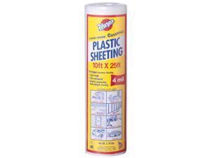"Warps SP-4CH10-C 10"" X 25' Clear Plastic Sheeting"