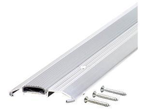 "MD 08102 36"" Aluminum Low Boy Thresholds With Vinyl Seal Aluminum"