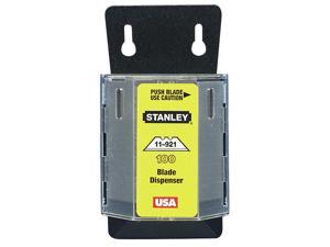 Stanley Hand Tools 11-921A 100 Pack Utility Knife Blades & Dispenser