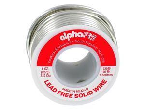 alpha fry AM23955 1/2 lb 95/5 Spool Lead-Free Solid Wire Solder