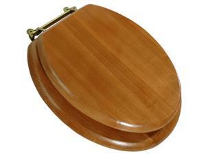 LDR 050-1700 Cross Grain Oak Toilet Seat