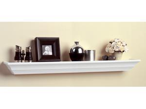 """10"""" White Finish Shelf-Made Images™ Wood Display Ledges"""