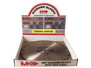 "MK Diamond 167482 5 Count 12"" Contractor Plus™ Diamond Blade"