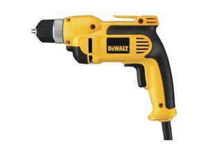 "Dewalt DWD110K 3/8"" Heavy Duty VSR Pistol Grip Drill Kit With Keyless Chuck"