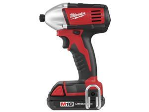 "Milwaukee 2650-21 1/4"" M18™ Cordless Hex Compact Impact Driver"