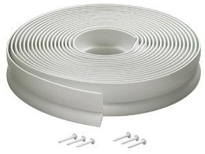 MD 03822 30' White Vinyl Garage Door Seal For Top & Sides