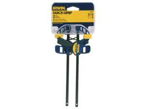 "Irwin Tools                              2 Count 4-1/2"" Quick-Grip® One-Handed Micro Bar Clamp"