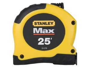 "Stanley Hand Tools 33-279 Max™ 1-1/8"" X 25' Tape Measure"