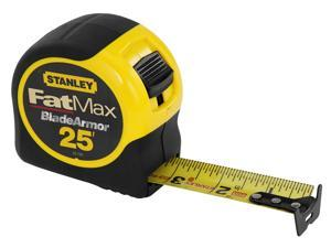 "Stanley Hand Tools 33-725 1-1/4"" X 25' FatMax® Tape Measure"