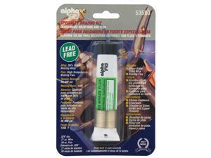 alpha fry AM53500 Lead Free Silver Braze Wire & Flux Kit