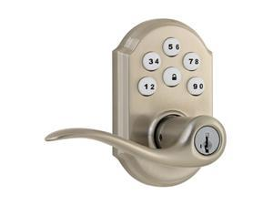 Kwikset SmartCode 912 Traditional Z-Wave Leverset, Satin Nickel (99120-005)