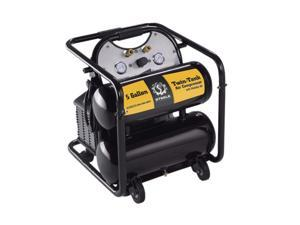 Steele Products CE-355TM 5 Gallon 2 Tank Air Compressor On Wheels
