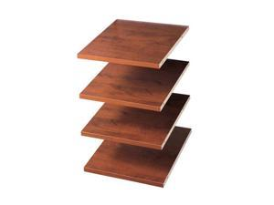 "Easy Track RS1412-C 4 - 12"" Shelves - Cherry"