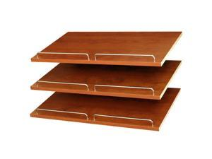 Easy Track RS1600-C Shoe Shelves - Cherry