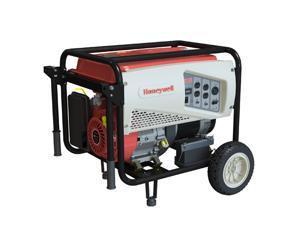 Honeywell 6039-7500E 7500 Watt 420cc OHV Portable Gas Powered Generator with Electric Start