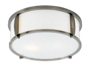 Quoizel Pewter Plated Pewter Medium Flush Mount