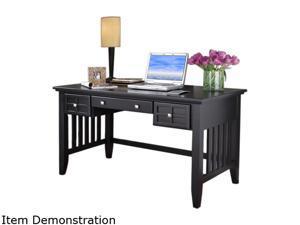 Home Styles 5181-15 Arts & Crafts Black Executive Desk