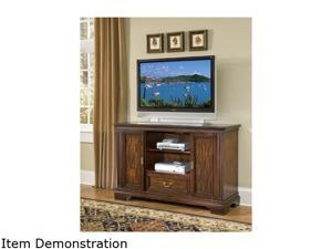 Home Styles Windsor 5541-10 Transitional Windsor Entertainment Credenza