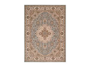 "Shaw Living Arabesque Easton Area Rug Blue Smoke 2' 3"" x 8' 3K06602400"